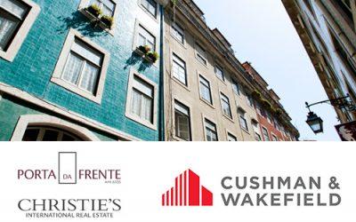 Cushman & Wakefield e Porta da Frente Christie's assinam acordo de parceria estratégica