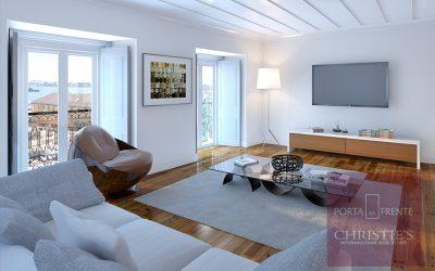 Edifício Cruzes da Sé: 9 apartamentos em Alfama