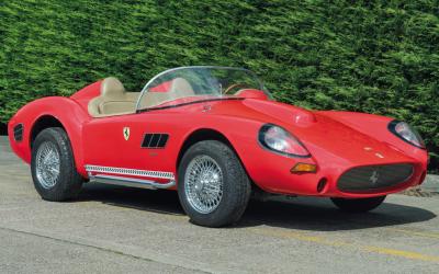 5 minutos com … Um carro brinquedo ao estilo Sbarro 'Ferrari'