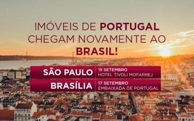 Imóveis de Portugal chegam novamente ao Brasil
