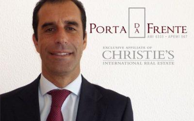 Diário Imobiliário entrevista Rafael Ascenso, Sócio-Gerente da Porta da Frente/Christie's