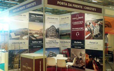Porta da Frente Christie's no Salão Imobiliário e do Turismo Português em Paris