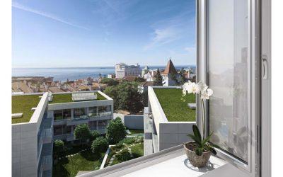 Vila Montrose: moderna urbanização com chalet centenário