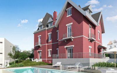 Vila Montrose: um condomínio com um charme histórico, no coração do Monte Estoril