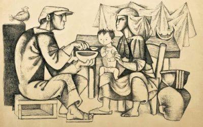 Júlio Pomar, um dos maiores nomes da pintura moderna Portuguesa