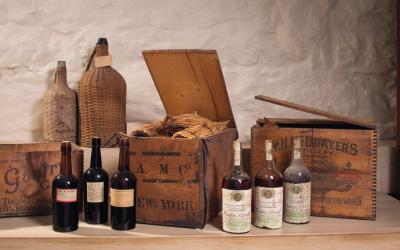 Descoberta: uma das maiores coleções de vinho da Madeira nos Estados Unidos
