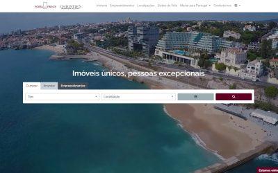 Porta da Frente Christie's lança novo website: a sua futura casa à distância de um clique