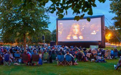 Cinema ao ar livre em Oeiras