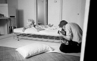 Na cama com Marilyn Monroe
